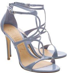 Sandália Blanca Stiletto Blue Jeans