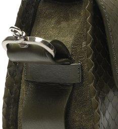 Bolsa Mini Tiracolo Mandy Snake Verde-Militar
