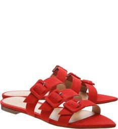 Slide Buckle Red