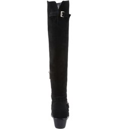 Bota Natural Folk Long Leg Black
