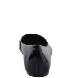 Sapatilha Bico Fino Verniz Black