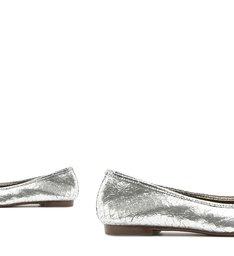 Sapatilha Ballerina Metalic Silver