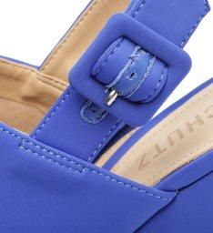 Sandália Meia Pata Spandex Azul