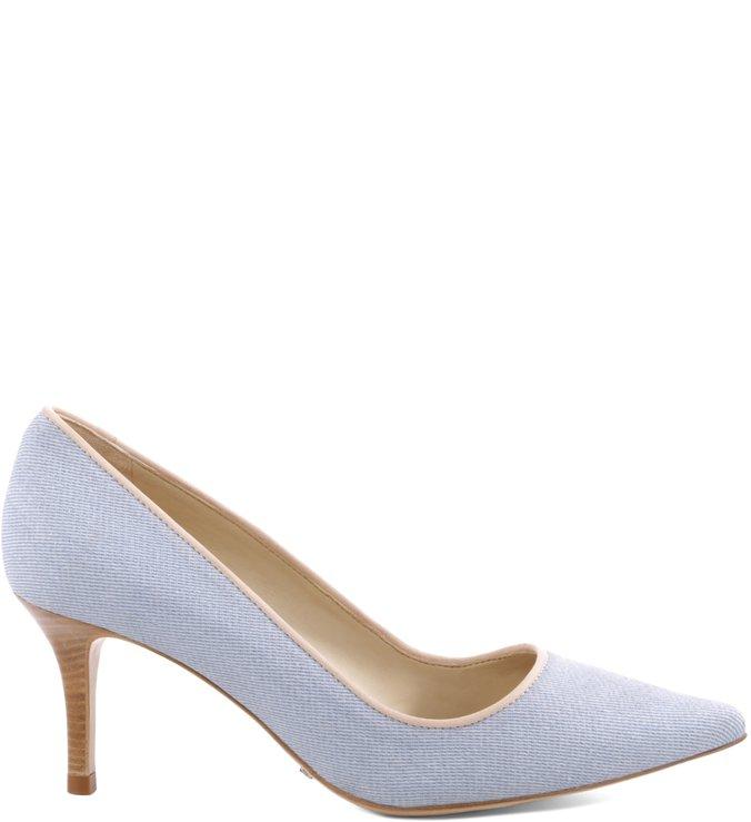 Scarpin Mid-Heel Light Blue