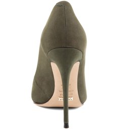 Scarpin Stiletto Militar Green