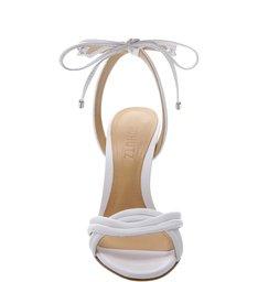 Sandália Lace-Up White