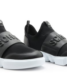 Tênis Schutz Strap Neoprene Black