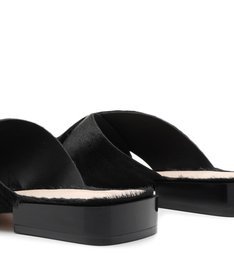 Flat Cross Soft Black