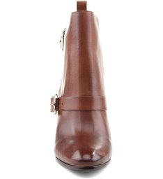 Ankle Boot Buckles Wood