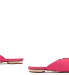 Flat Mule Hardware Pink