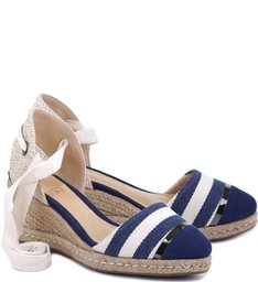 Espadrille Classic Stripes Blue