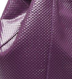 Hobo Bag Ully Deluxe Snake Purple