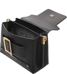 Satchel Buckle Bag Black