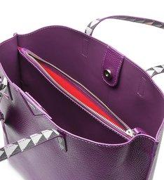 Shopping Bag Minimal Triangle Purple