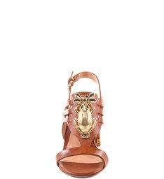Sandália Salto Bloco Brownie