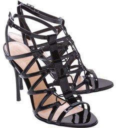 Sandália Western Hoop Strips Black