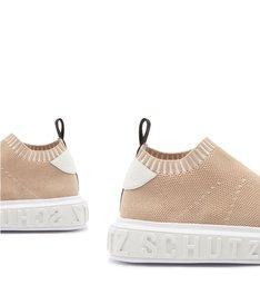 [PRÉ-VENDA] Sneaker It Schutz Bold Knit Nude