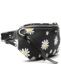 Pochete Neoprene Floral Black