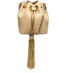 Bucket Bag Drop Ráfia