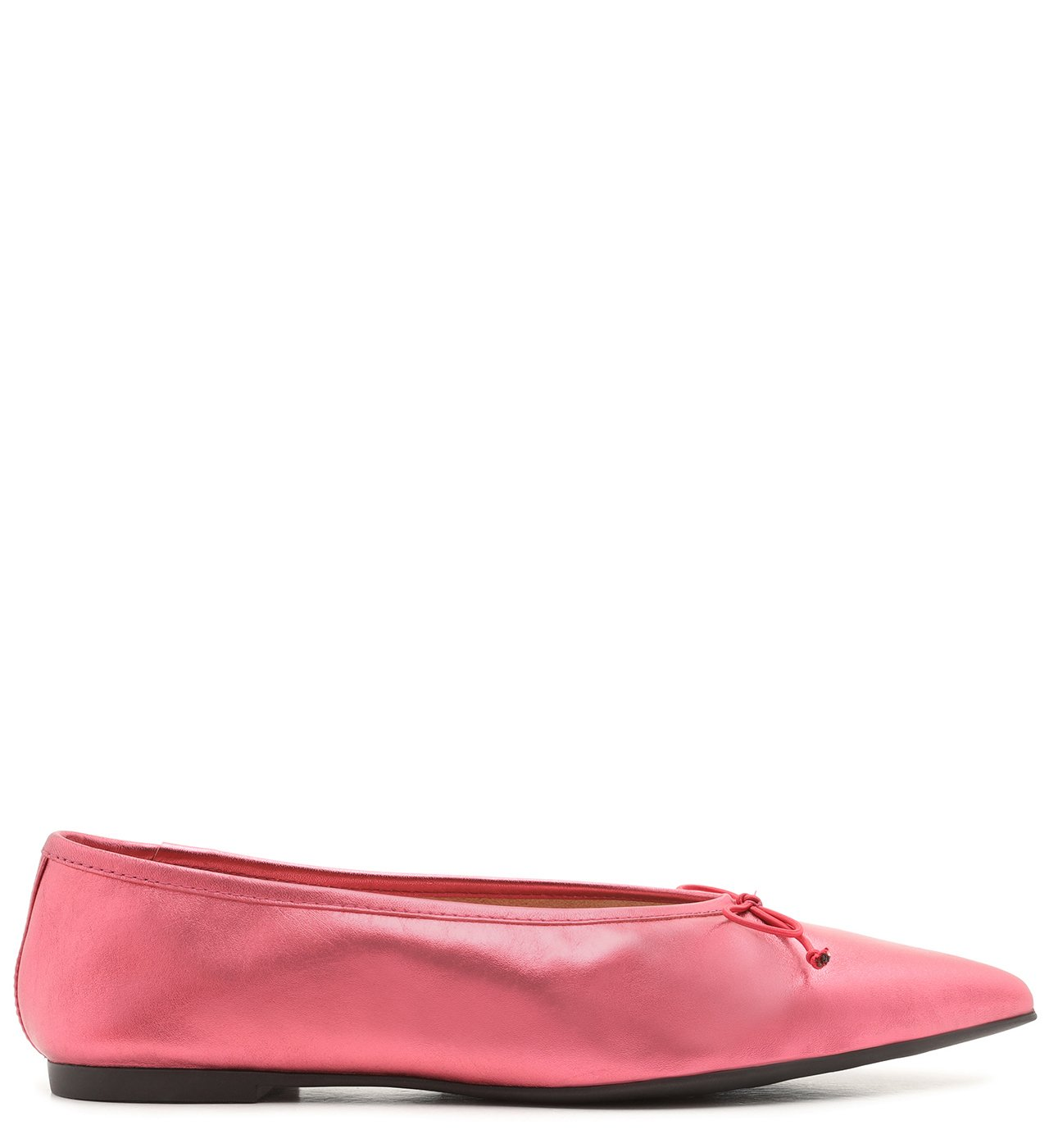 Sapatilha Pointy Metallic Red | Schutz