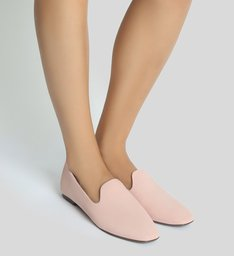 Slipper Nobuck Sweet Rose