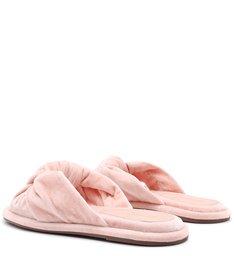 Homewear Flat Flip Flop Sarah Velvet Rose
