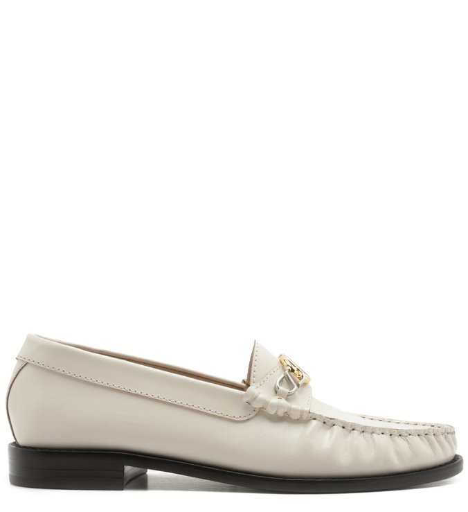 Mocassim Leather Verniz White | Schutz