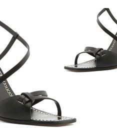 Sandália Salto Curves Black