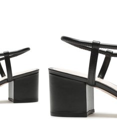 Sandália Block Heel Black