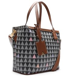 MINI SHOPPING NINA TRIANGLE BLACK