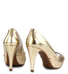 Peep Toe  Metalizado