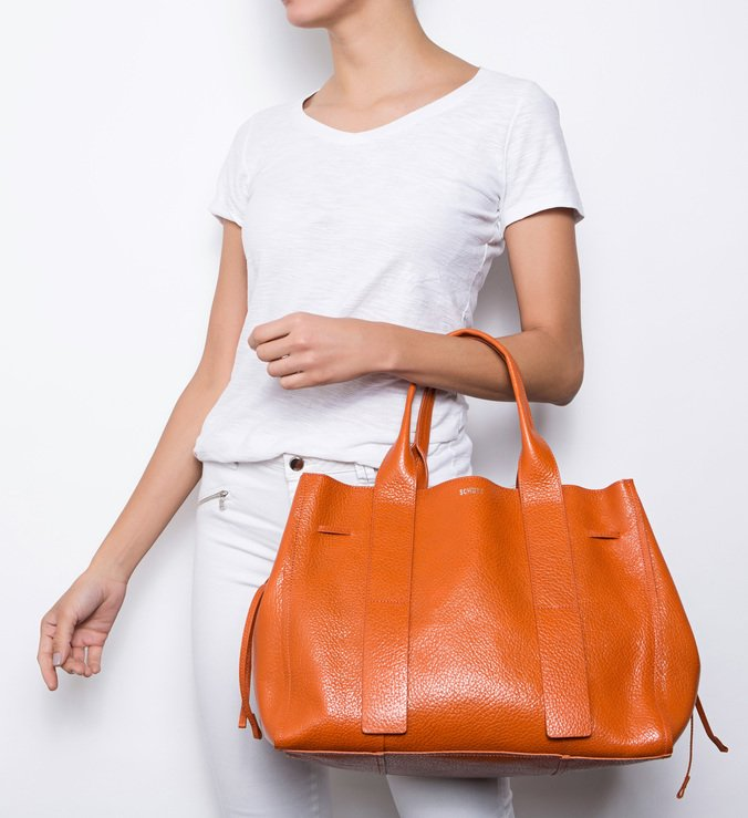 Shopping Bag Maxi Ocre