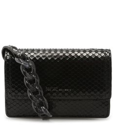 CROSSBODY SAM SNAKE BLACK