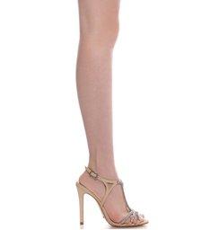 Sandália Stripe Glam Tanino