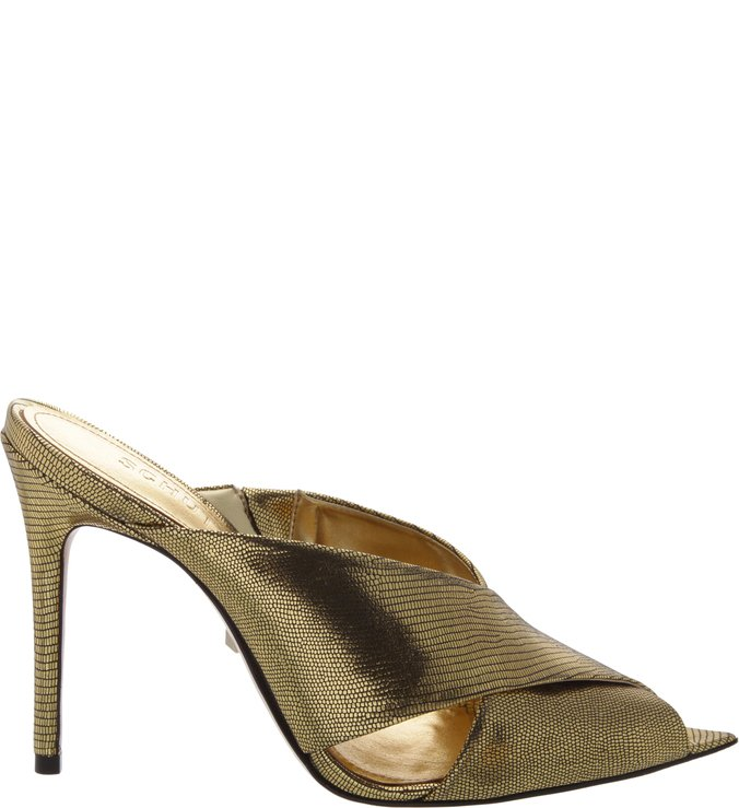 Mule High Straps Metallic | Schutz