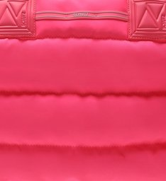 Shopping Fluffy Neon Pink