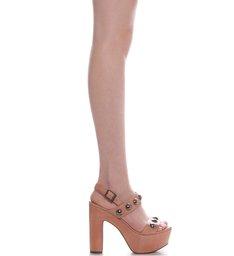 Sandália Plataforma Maxi Poppy Rose