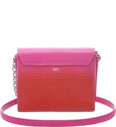 Crossbody Eva Croco Red Degradê