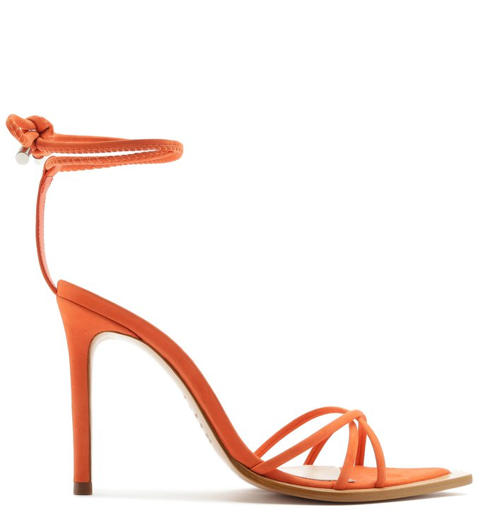 SANDÁLIA STRINGS LACE-UP 944 ORANGE