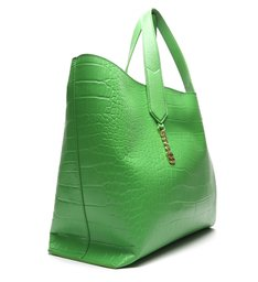 Shopping Bag Alexia Texture Green