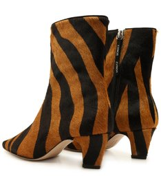 Skinny Boot Zebra Glam