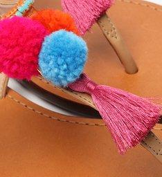 Rasteira Strings Fun Pink