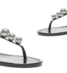 SANDÁLIA STUDS JELLY BLACK