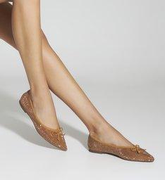 Sapatilha Ballerina Studs Neutral