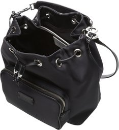 Bucket Bag Nylon Black