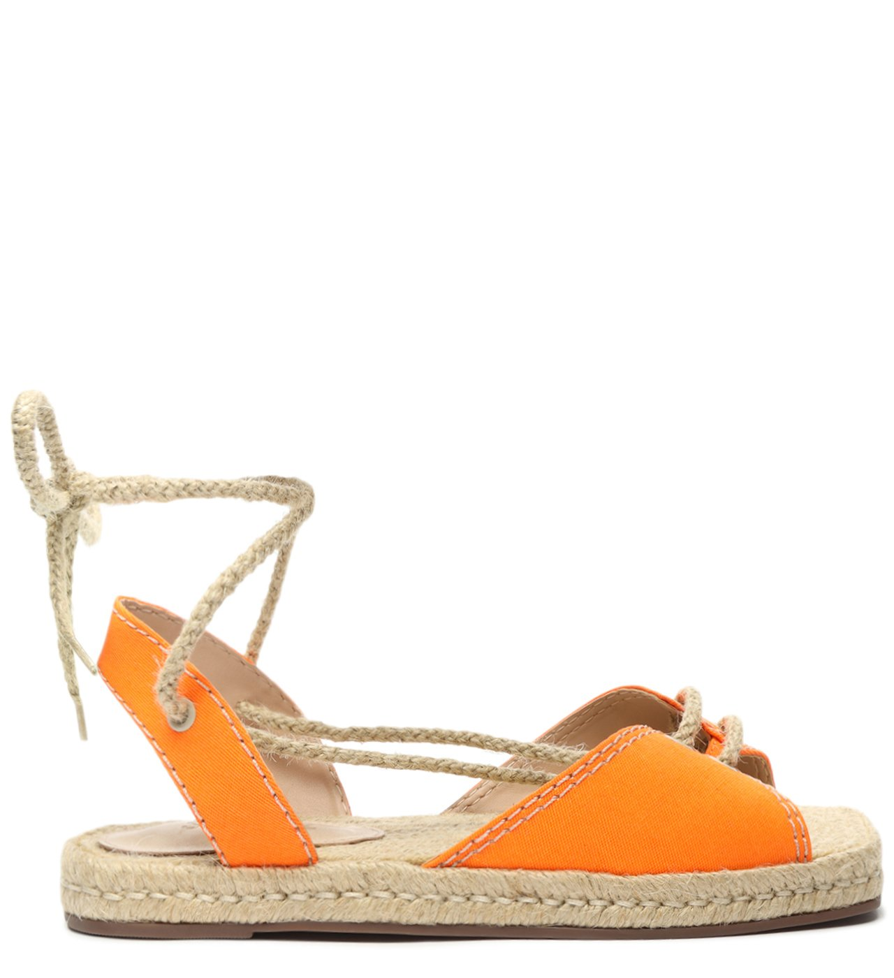 Flat Open Espadrille Orange | Schutz