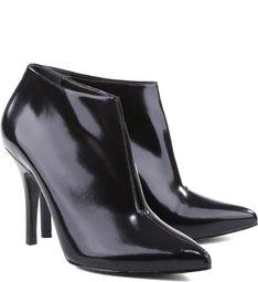 Ankle Boot Slit Black