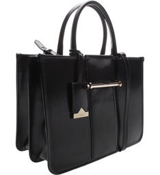 Handbag Lines Black