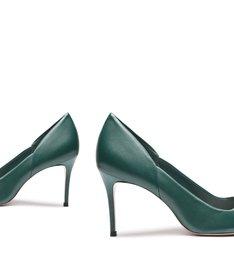 Scarpin New Classic Mid Heel Green
