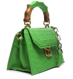 Crossbody Believe Bright Croco Green